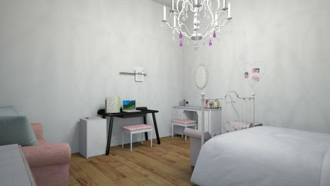 chic - Eclectic - Bedroom - by Katelyn Grace