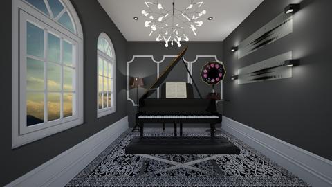 piano - by efi_bozika