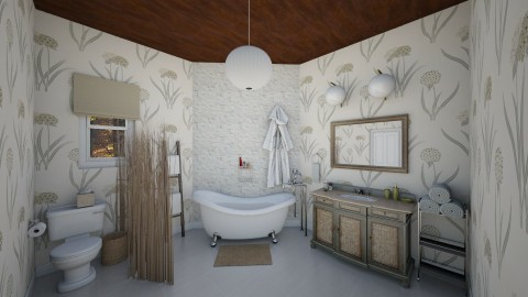 botanists bath - Rustic - Bathroom - by corbu_cat