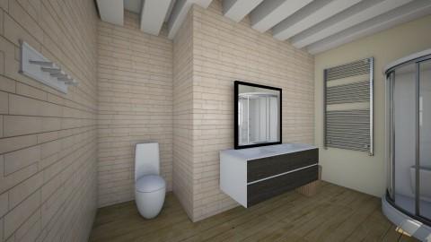 bathroomshower - Country - Bathroom - by MelindaMaria