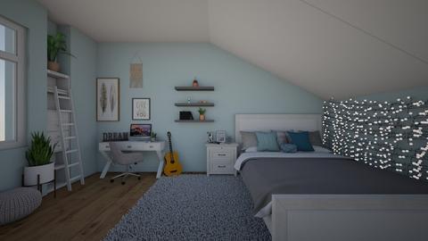 Attic Room - Bedroom - by Natalie222