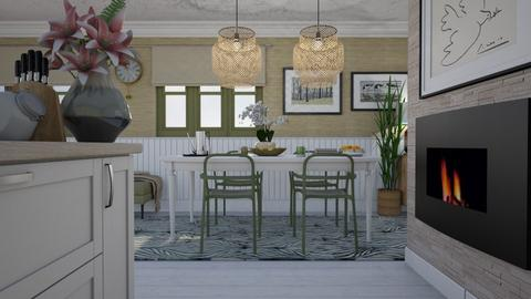 comfortable dining - Modern - Dining room - by HenkRetro1960