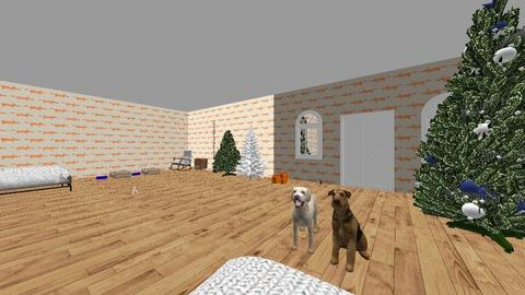 Christmas Home - by Cute_Doggy