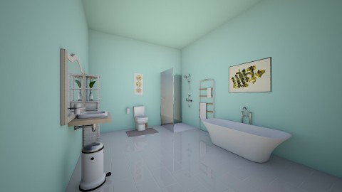girl bathroom - Classic - Bathroom - by Madelyn Kitteridge