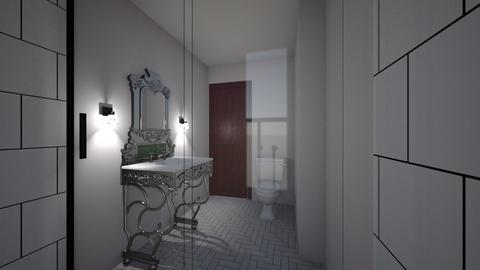2nd floor bathroom  - Bathroom - by moxieboy