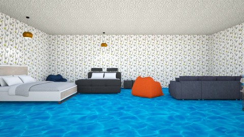 Log Man - Bedroom - by ravalonna