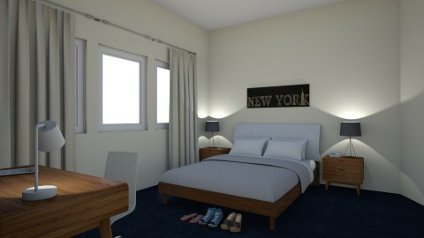 dorm1 - Minimal - Bedroom - by alexandria_saad