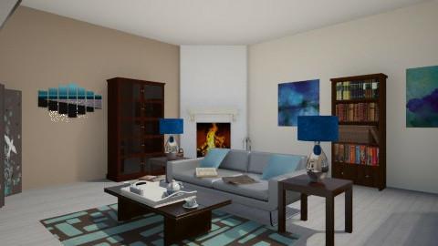 Neutral living room - Modern - Living room - by anjel0228