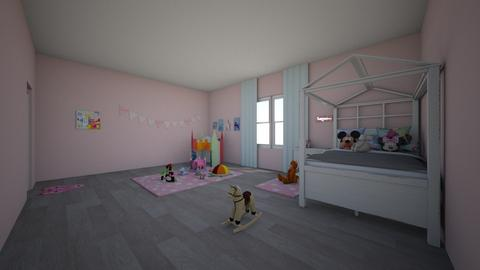 girl - Classic - Kids room - by waad702