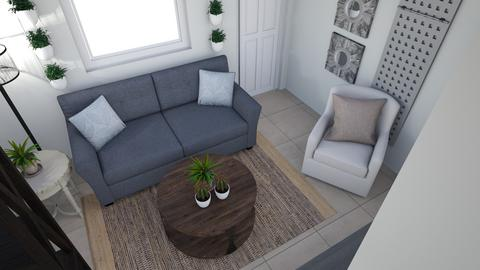 Living Space for Mark - Living room - by TheDutchDesigner