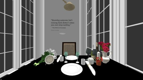 waiting you - Dining room - by DMLights-user-1044826