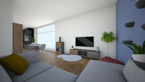 1st appartement - Living room - by lealedet