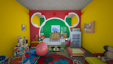 Mickey - Kids room - by sissybee