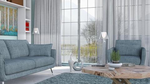M_ pvc - Living room - by milyca8