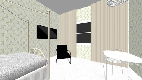 Gwens Studentenkamer 01 - Living room - by boudewijnbroekhuis