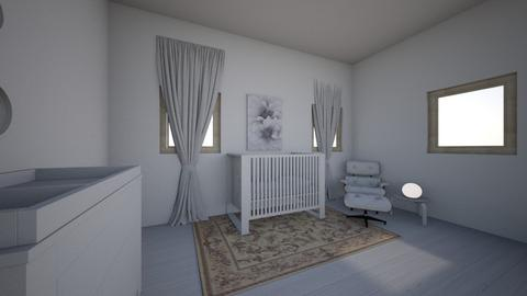 Luxury White Nursery - Kids room - by deleted_1565369986_TheColorConsulta