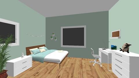My Bedroom - Minimal - Bedroom - by Ameera Peachy Mint