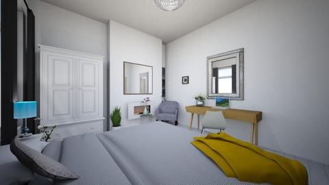 main bed wardrobe view - Bedroom - by macdebdesign