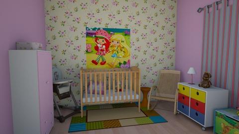 BABY - Feminine - Kids room - by HannaTOTE