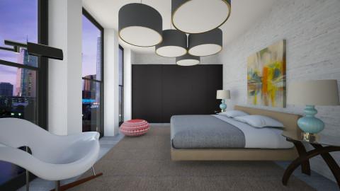Whitey Bedroom - Modern - Bedroom - by 3rdfloor
