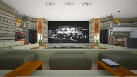TV room - Modern - Living room - by russ