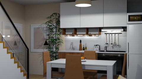 Budget house Living room - Modern - Living room - by kazakov_sh