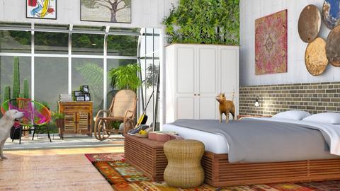 Boho bedroom - by Aymee Estrella