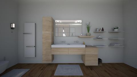 house b4 - Bathroom - by nikolinajadanic