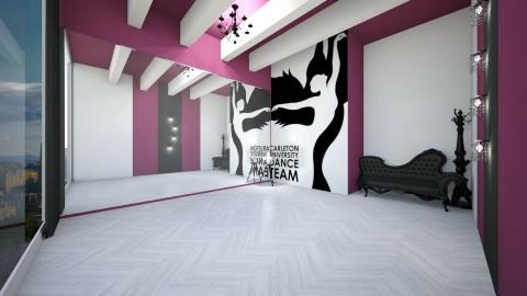 dance studio - by dimanna8