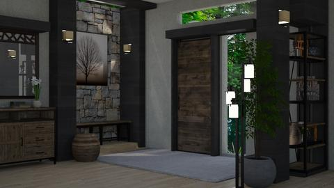 HQ13 Dreamhouse Entrance - by HarleyQuinn17