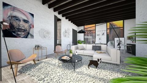 loft living room - Modern - Living room - by esmeegroothuizen
