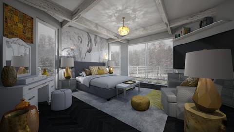 Mural Bedroom - by PenAndPaper