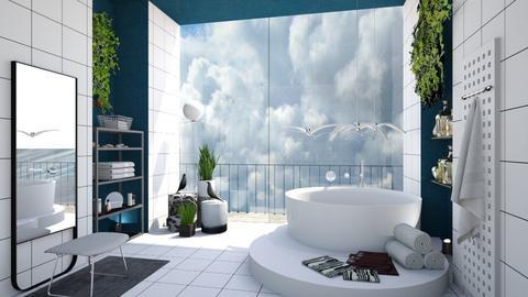 Clouds - Bathroom - by chania