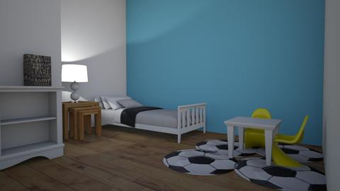Plain is the main - Kids room - by Stander
