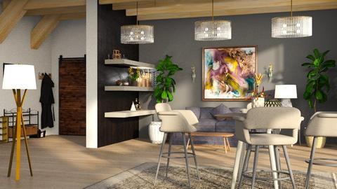 Revolve - Living room - by ZuzanaDesign