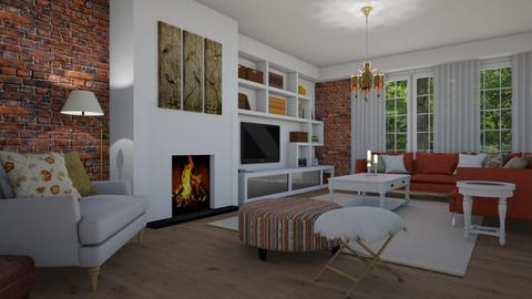 Eclectic - Living room - by Tuija