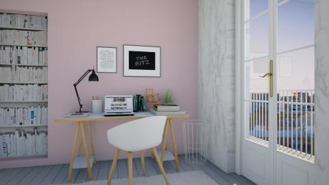 Marble Life - Feminine - Office - by Maria Esteves de Oliveira