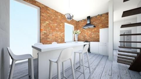 u - Retro - Kitchen - by ewcia11115555