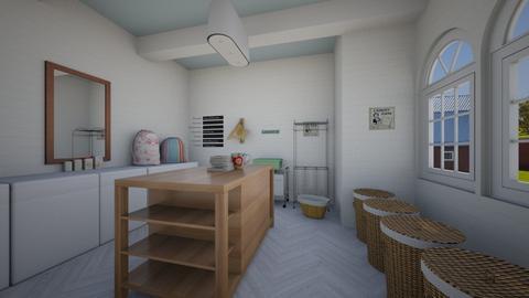 laundry room alpaca - by smithpetraf