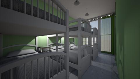 quarto de 6 hospedes - Minimal - Bedroom - by kelly lucena
