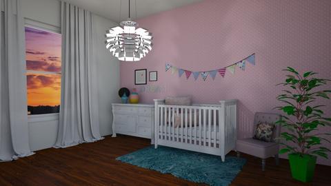 Baby Girl  - Kids room - by Paris Lidgard