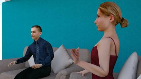 Hector Interviewer setup  - Minimal - Office - by hernankern