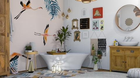Bohemian Bathroom - Modern - Bathroom - by Roquette