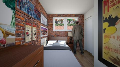Garden Level Apt Bedroom - Bedroom - by SammyJPili