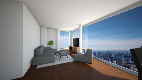 Living Room Revised - by marcihutson