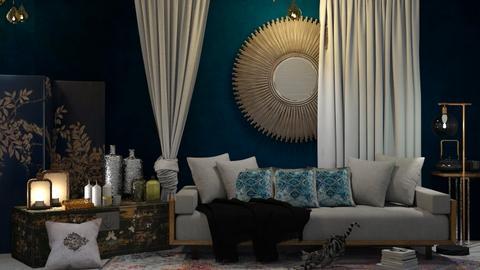 boho - Living room - by Ripley86