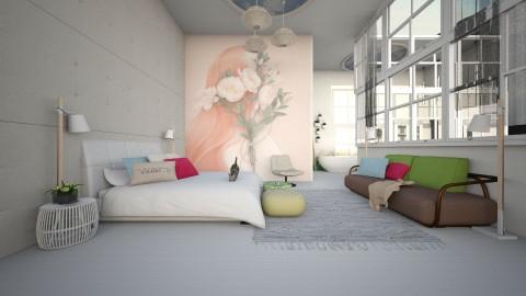 fresh bedroom 2 - Modern - Bedroom - by nikolaiR6971