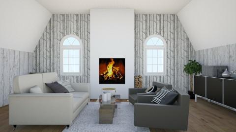 takkahuone - Living room - by lumiveistos