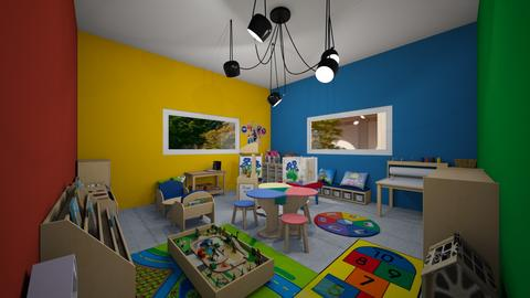 preschool play room kids  - Modern - Kids room - by jade1111