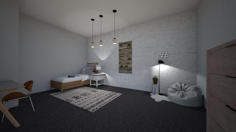 bed room - Modern - Kids room - by 27aleger